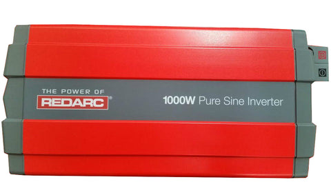 REDARC 1000W PURE SINE WAVE INVERTER R-12-1000RS 12 VOLT