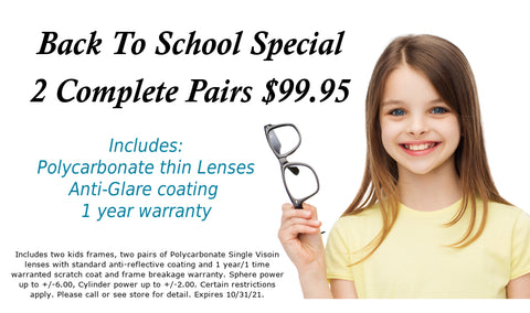 Kids Special, 2 for $99