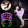 Rechargeable Waterproof LED Flashing Light Band - Night Safety for Dogs