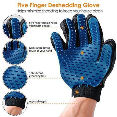 Like Magic Deshedding Glove for Dogs & Cats