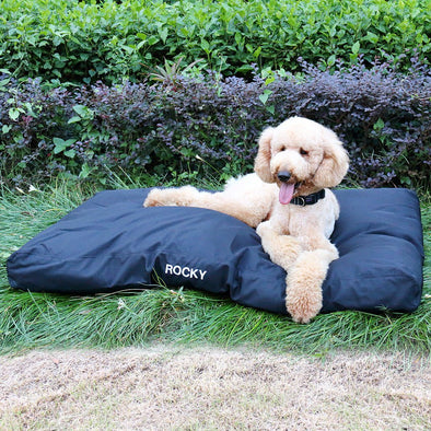 Premium 'Tough' Dog Bed - With Personalisation