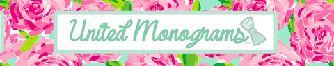 United Monograms & Lilly Pulitzer