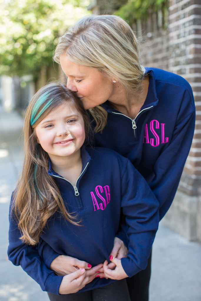 Mommy and Me monogrammed