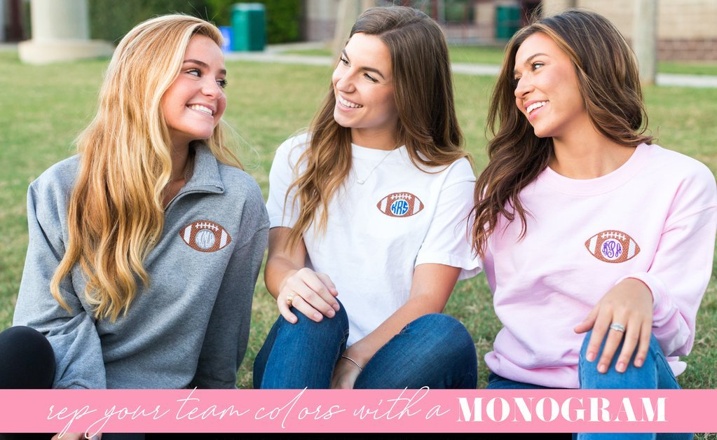 Football Monogrammed Clothing