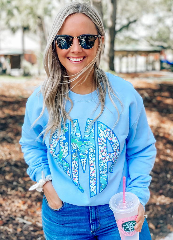 United Monograms Lilly Sweatshirt