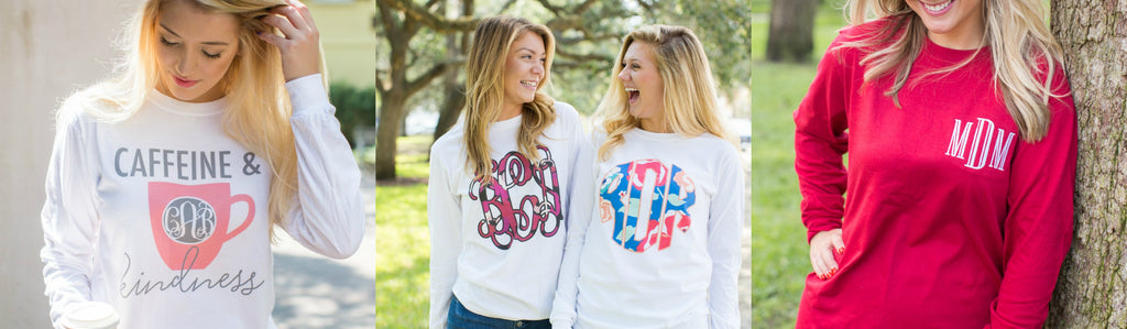 Monogram Long Sleeves