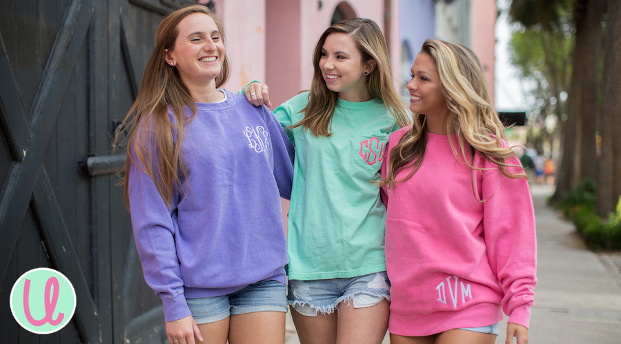 United Monograms & Monogrammed Comfort 'Comfort Colors' Shirts