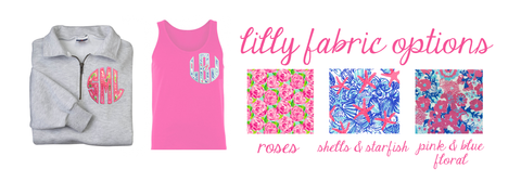 Lilly Pulitzer with Monograms