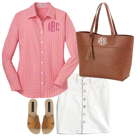 Personalized Gingham shirt