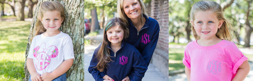 Monogrammed Kids Clothing