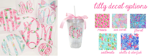 Lilly Pulitzer- United Monograms