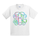Monogrammed Kids Youth Toddler Lilly Pulitzer T-Shirt