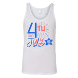 Monogrammed Fourth of July Tank Top