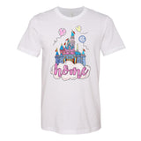 Monogrammed Disney Castle Home Tee