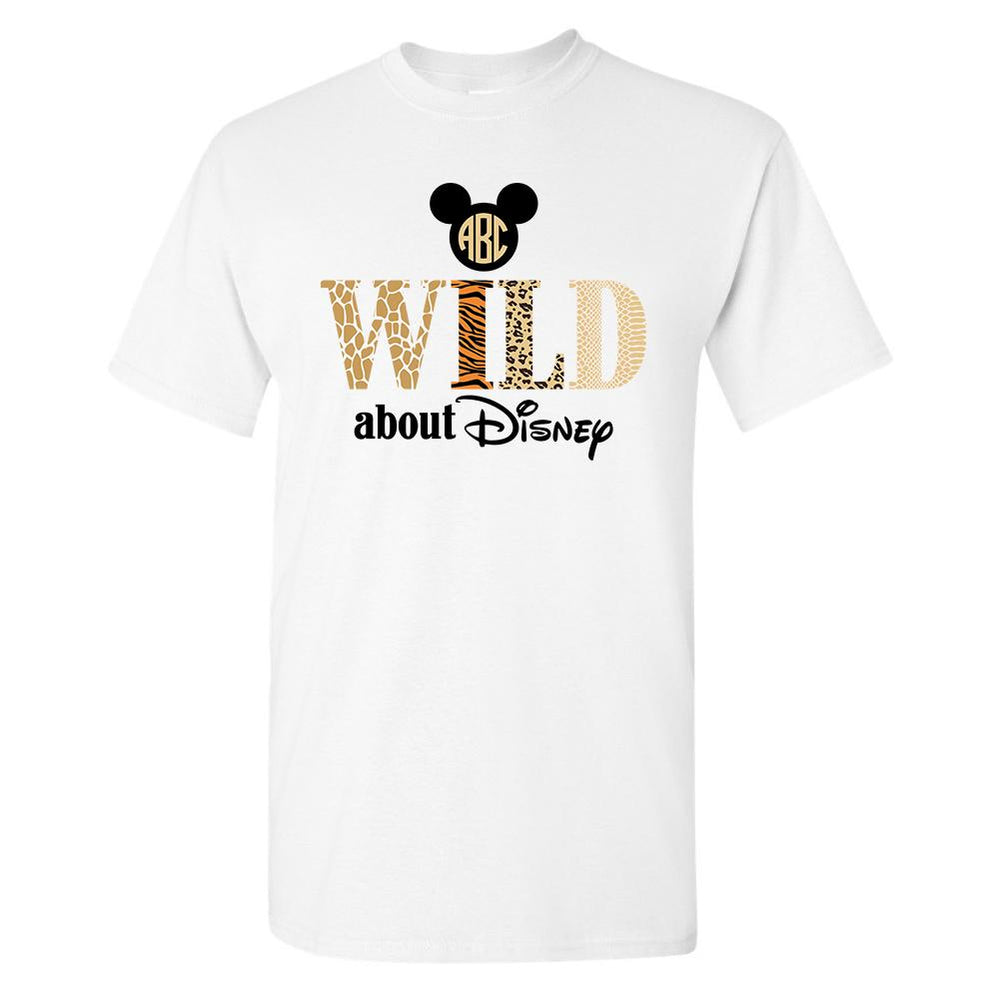 Monogrammed Wild About Disney Animal Kingdom T-Shirt