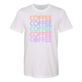Monogrammed Retro Coffee Tee