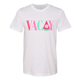 Monogrammed Vacay Vacation Watermelon Tee