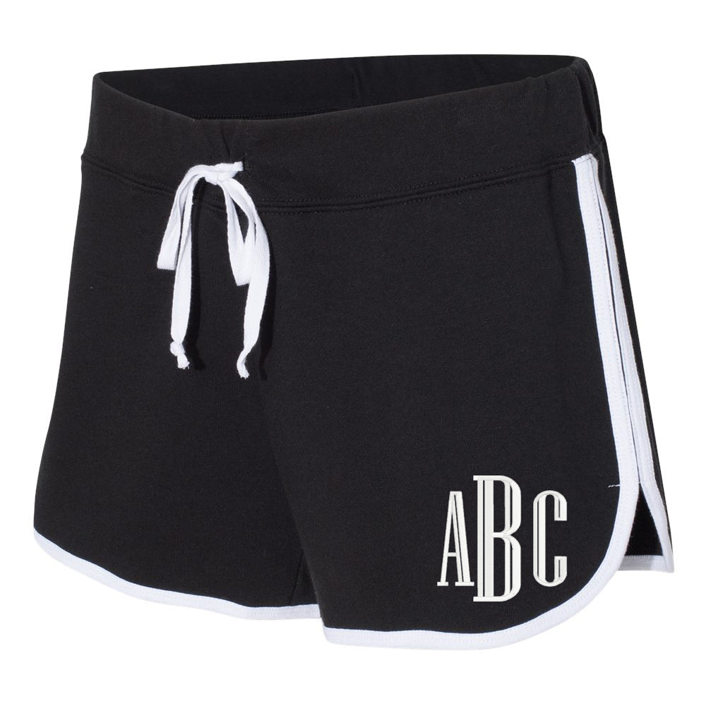 Monogrammed French Terry Running Shorts