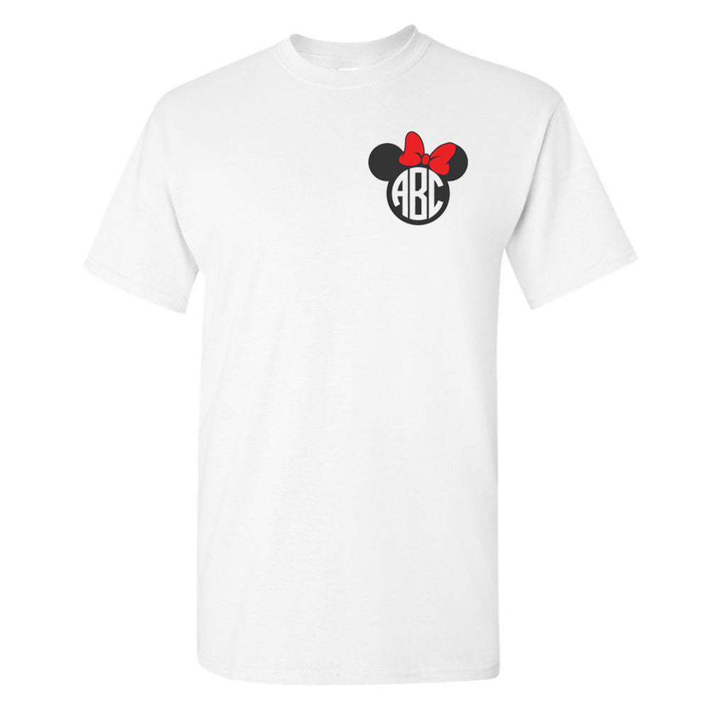 Monogrammed Minnie/Mickey Mouse Disney T-Shirt