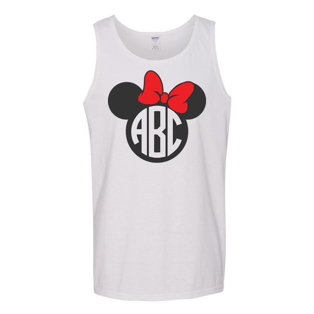 Monogrammed Minnie Mouse Tank Top Disney