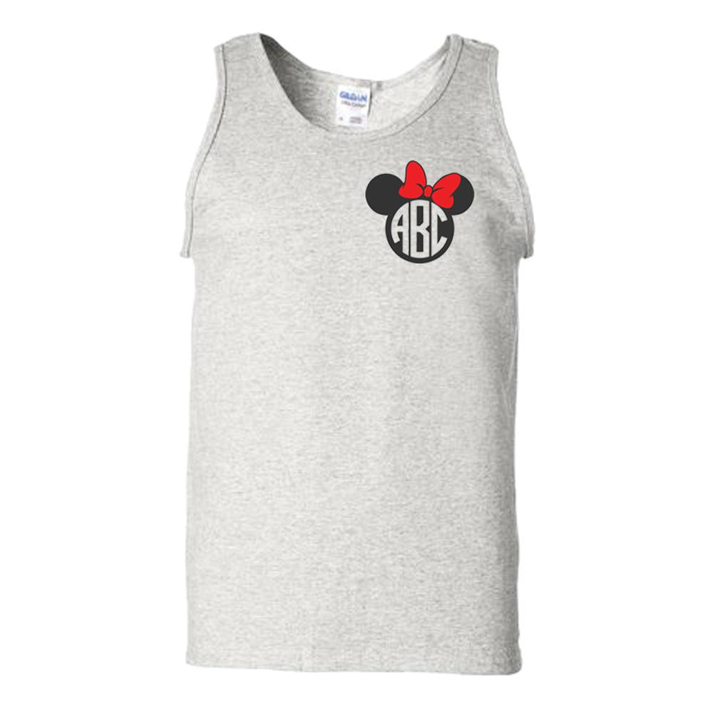 Monogrammed Minnie/Mickey Mouse Disney Tank Top