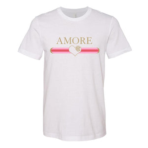 Monogrammed Gucci Amore Love Valentine's Day Tee