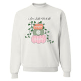 Monogrammed I Love Fall Most Of All Sweatshirt