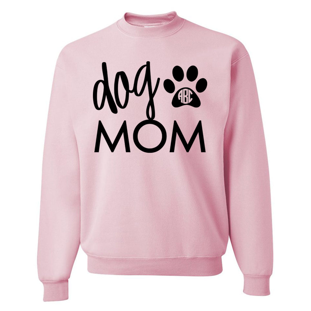Monogrammed Dog Mom Sweatshirt