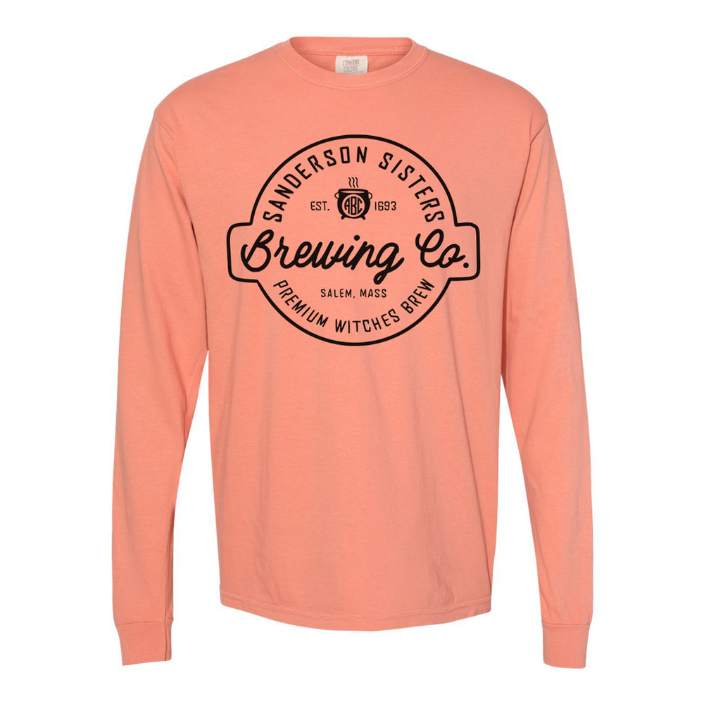 Monogrammed Hocus Pocus Sanderson Sisters Brewing Co Shirt