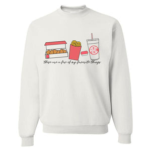 Monogrammed Chick-fil-A Favorite Things Sweatshirt