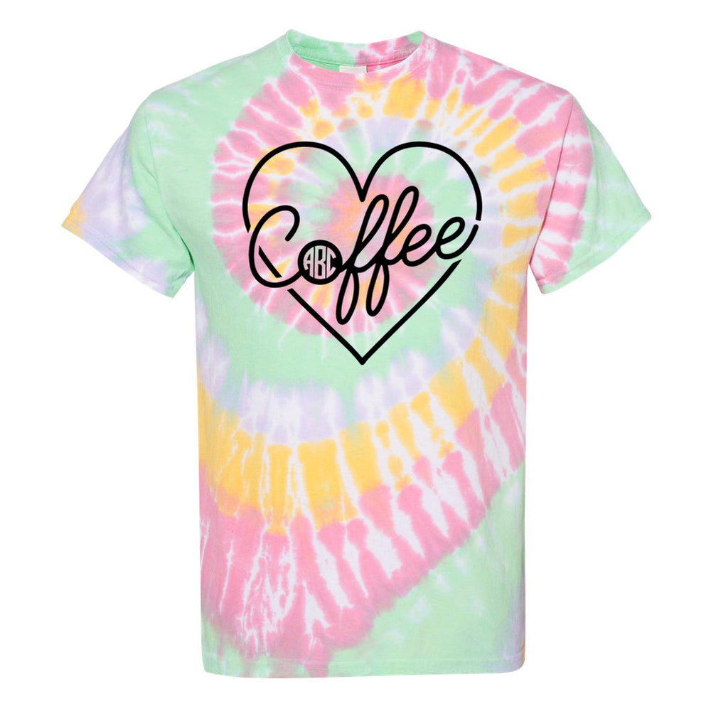 Coffee Tpe Dye Shirt