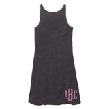 Monogrammed Ringer Racerback Dress