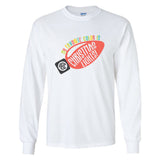 Monogrammed My Favorite Color Is Christmas Lights Long Sleeve Shirt