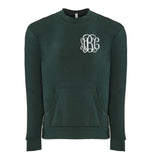 Monogrammed Crewneck Sweatshirt With Pockets