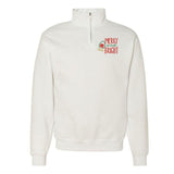 Monogrammed Christmas Merry & Bright Quarter Zip