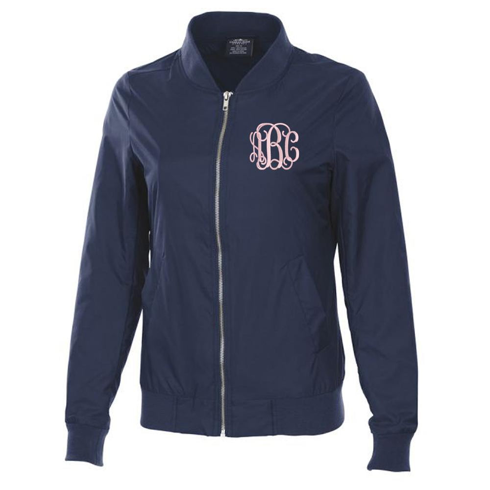 Monogrammed Boston Flight Jacket
