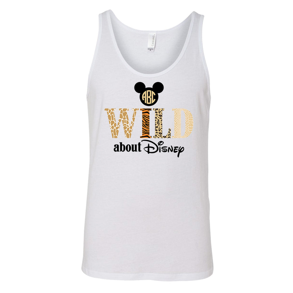 Monogrammed Wild About Disney Tank Top Animal Kingdom