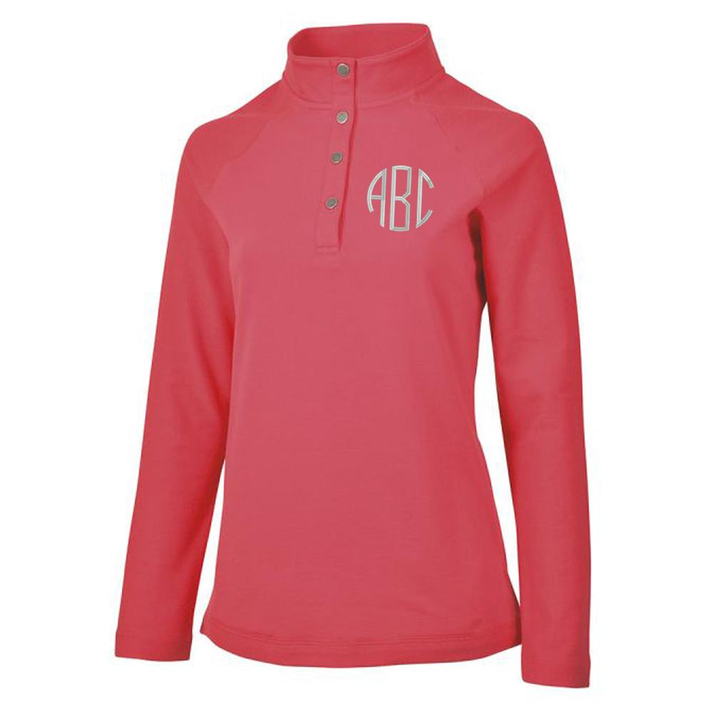 Monogrammed Falmouth Pullover