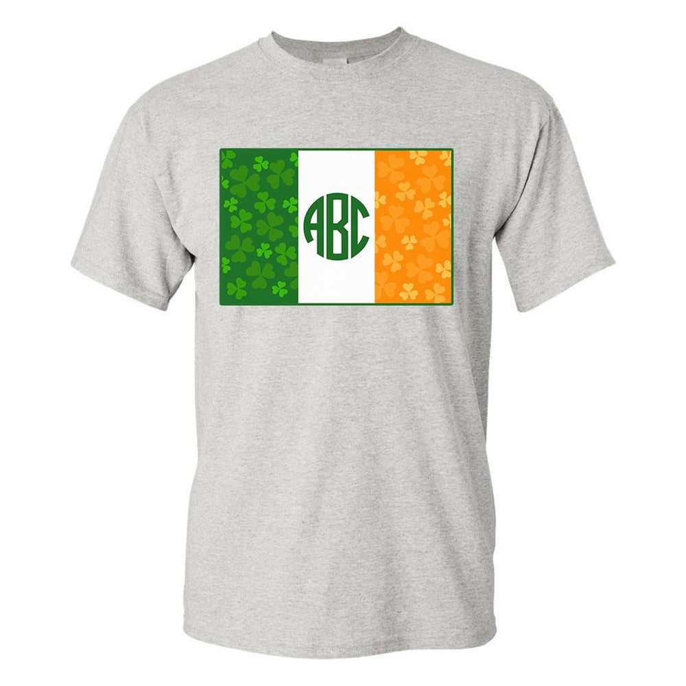 Monogrammed Irish Flag T-Shirt St. Patrick's Day