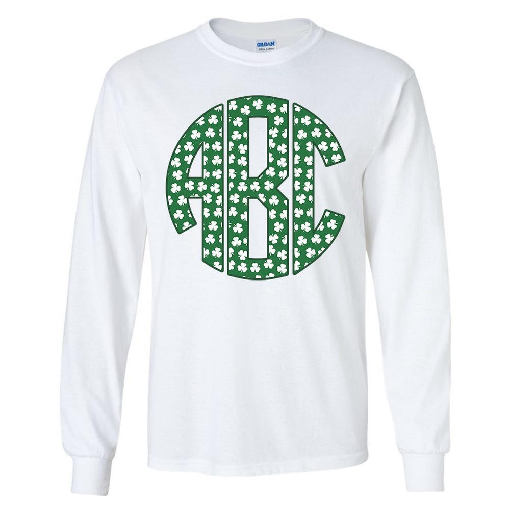 Shamrock Monogram shirt