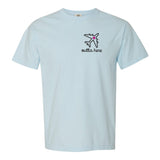 Monogrammed Airplane Mode Outta Here T-Shirt