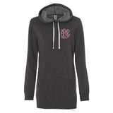 Monogrammed Hooded Sweatshirt Dress