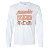 Monogrammed Pumpkin SZN Long Sleeve Shirt