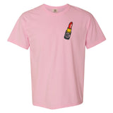 """Blossom"" Pink Monogrammed Comfort Colors Tee"