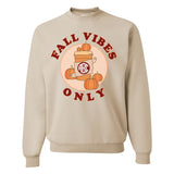 Monogrammed Fall Vibes Only Sweatshirt