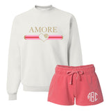 Monogrammed Amore Gucci Love Valentine's Day Lounge Set
