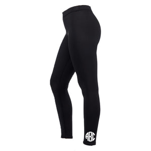 Monogrammed Leggings