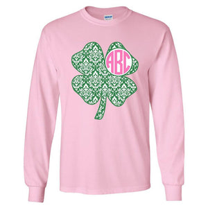 Pink Irish Monogram shirt