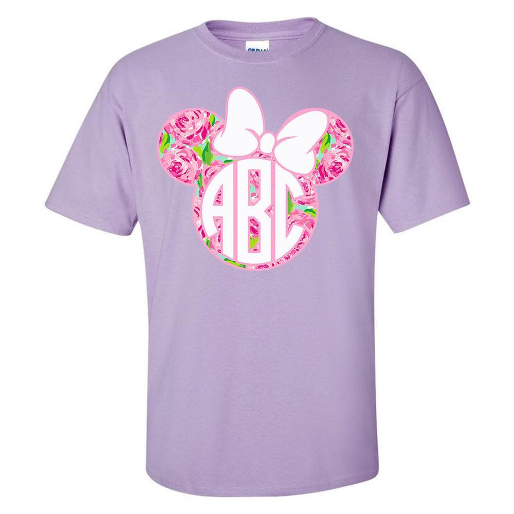 Monogrammed 'Lilly Minnie Mouse' T-Shirt
