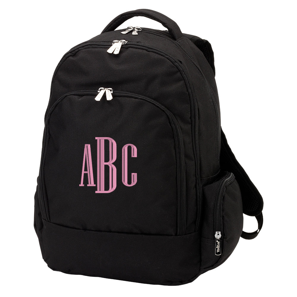 Monogrammed Backpack